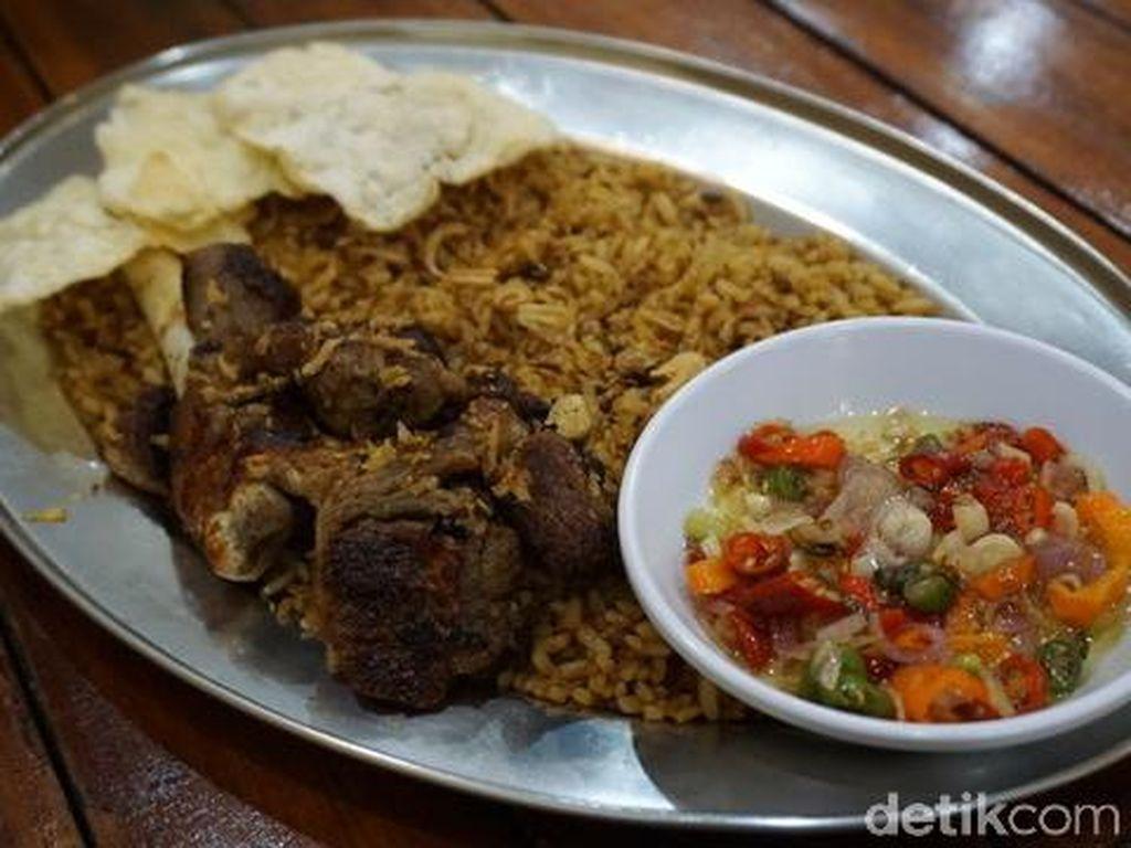 Nyam! Empuk Gurih 'Dabba' Olahan Daging Kambing Khas Timur Tengah
