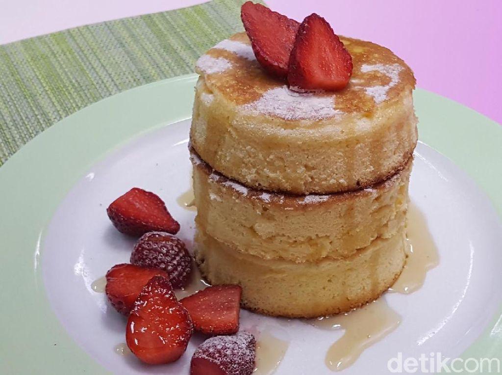 Resep Kue : Japanese Fluffy Pancake