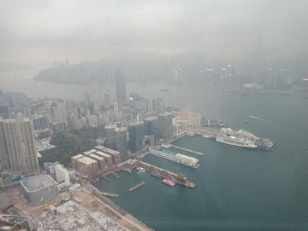 Foto: Spot Kece Melihat Hong Kong dari Ketinggian