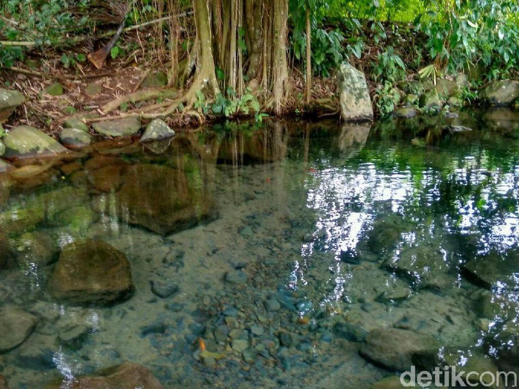 Misteri Mata Air yang Bergelembung di Ciamis