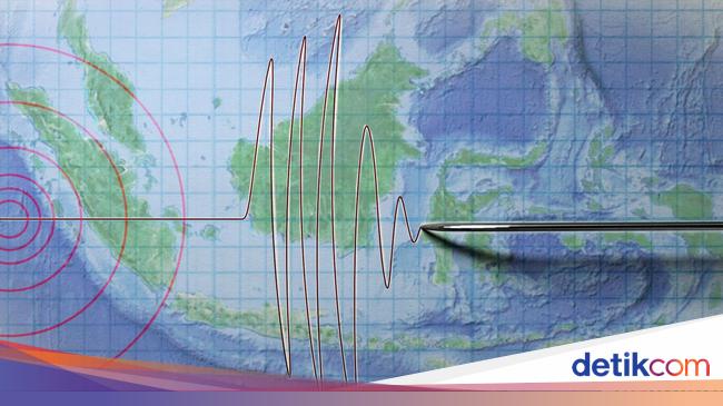 Gempa M 5,5 Terjadi di Bengkulu