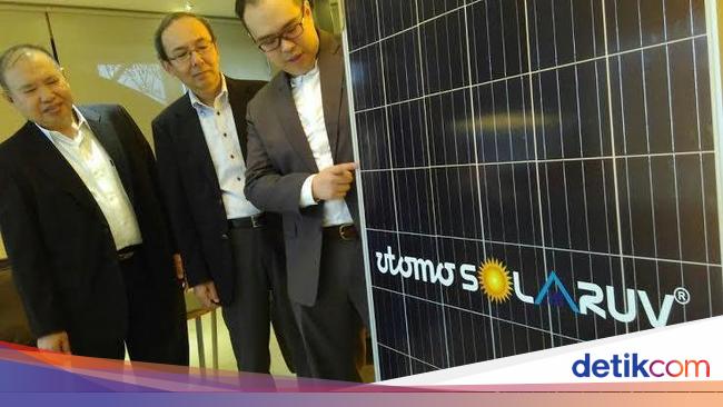 perusahaan listrik tenaga surya jepang bidik segmen