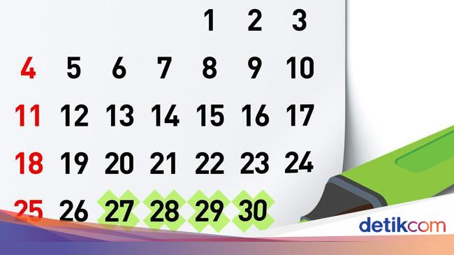 Catat Ini Jadwal Libur Nasional Dan Cuti Bersama 2019