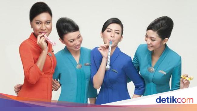 10 Seragam Pramugari Paling Stylish Etihad Sampai Garuda Indonesia