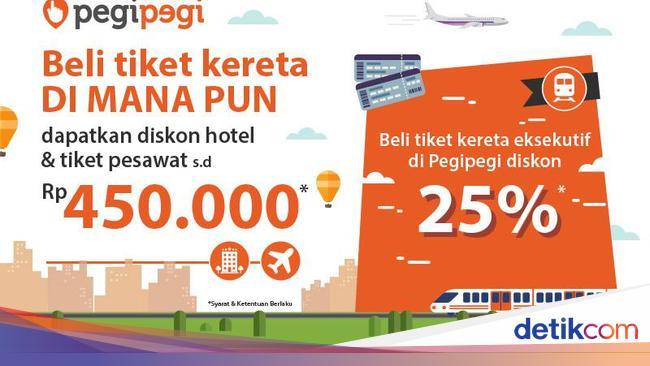 Beli Tiket Kereta Di Kai Travel Fair Dapat Diskon Hotel Dan