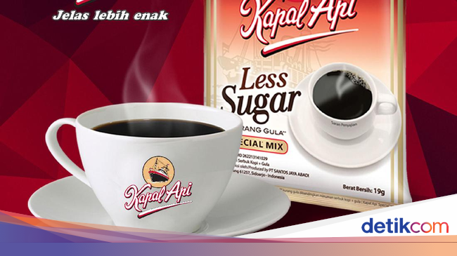 Kapal Api Less Sugar Kampanye  guladikitlebihsehat a5d542ce15
