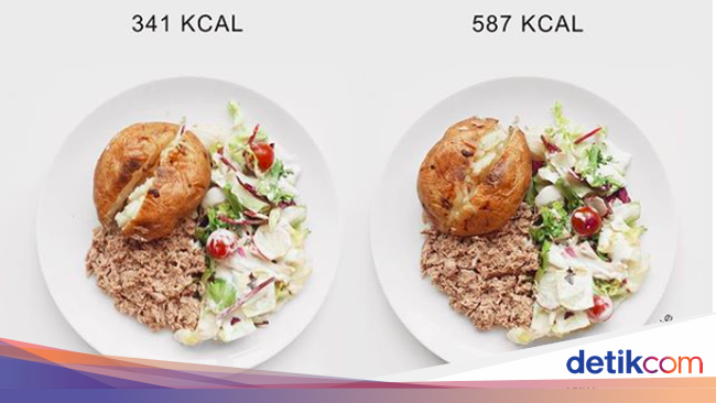 Foto: Boleh Dicontek! Ini Perbandingan Kalori dalam ...