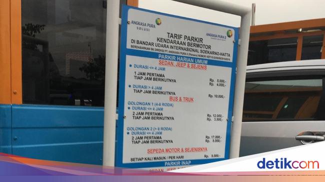 Mengintip Tarif Parkir Inap Mobil di Bandara Soetta