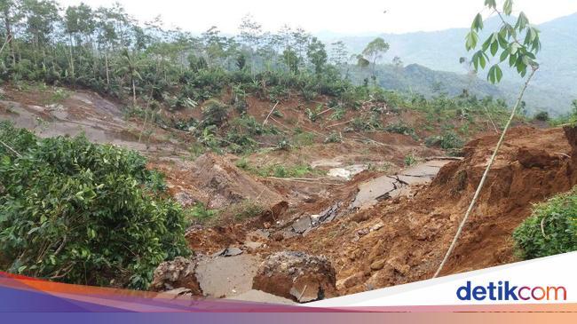 Zona 150 Meter dari Titik Tanah Bergerak di Banjarnegara ...