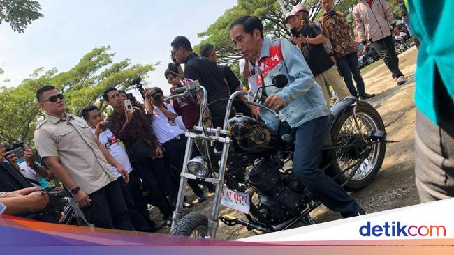 Jokowi Motoran di Pembukaan Asian Games 2018, Netizen Heboh