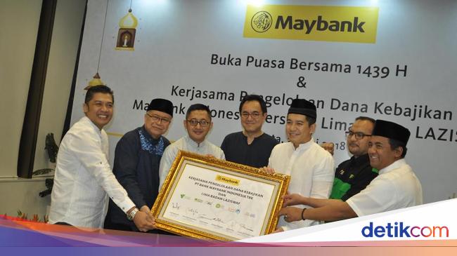 BNII Salurkan Dana Kebajikan, Maybank Indonesia Gandeng 5 Lembaga Ziswaf
