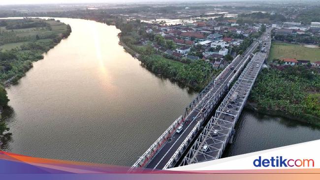 Alhamdulillah, Jembatan Babat yang Sempat Putus Kini