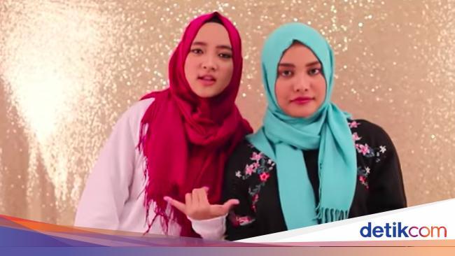 Aurel Hermansyah Tutorial Hijab Bareng Nissa Sabyan Ini Hasilnya