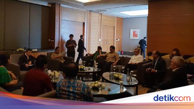 SCBD Darmin, Rudiantara hingga Pengusaha Kongkow Bareng Jack Ma di SCBD