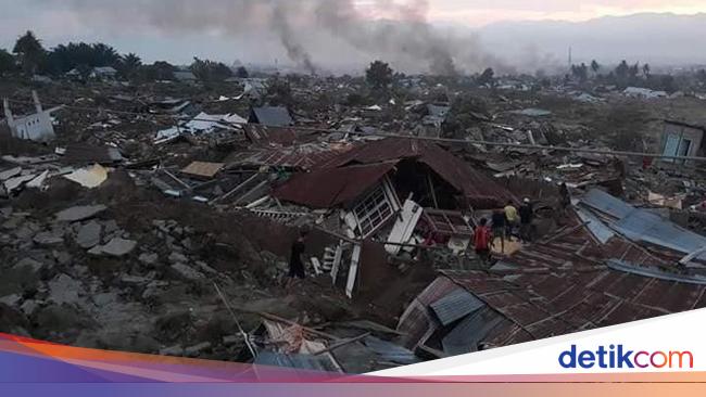 Sejarah Gempa dan Tsunami Hantam Donggala-Palu, Terdahsyat ...