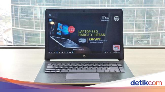 HP Joy 2, Laptop Murah Dengan SSD Untuk Pelajar