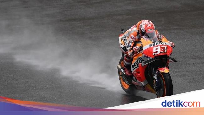 Dipenalti Enam Grid, Marquez Mengaku Tak Lihat Iannone
