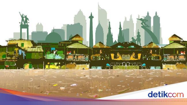 Jakarta Hujan, Banjir di RW 04 Cipinang Melayu Naik Lagi Jadi 2 Meter