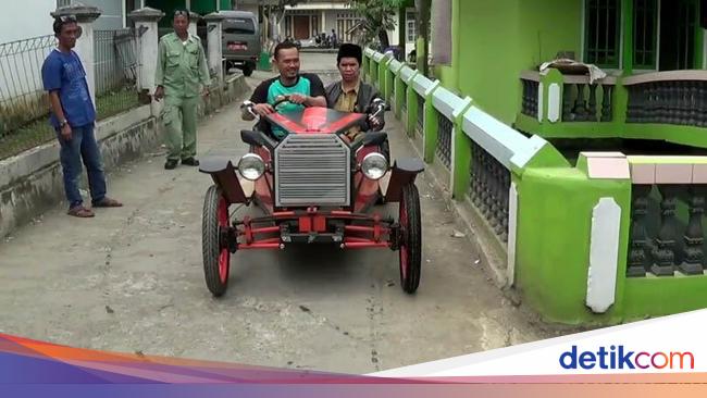 Mobil Royal Wedding dari Besi Bekas Bisa Jalan Tapi Pelan