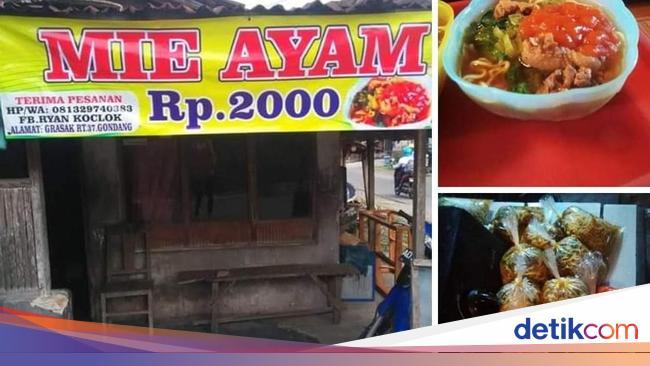Contoh Spanduk Iklan Mie Ayam - desain banner kekinian