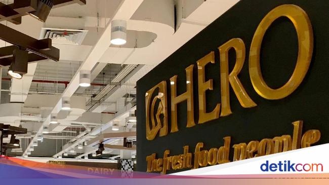 HERO Usai Tutup 6 Gerai Giant, Hero Investasi Rp 500 Miliar