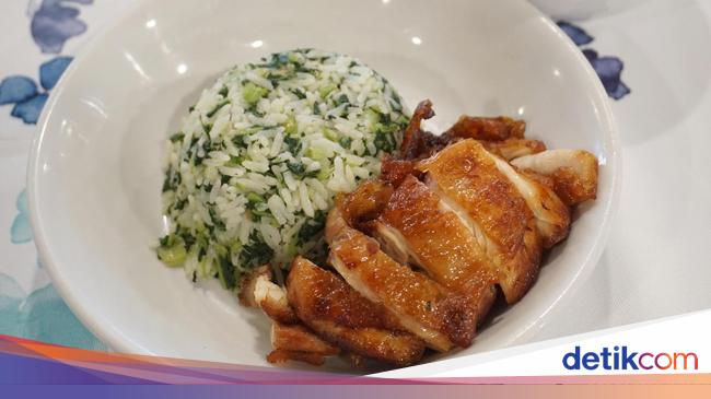 Shanghai Garden: Uniknya Nasi Sayur Ayam Goreng Khas Shanghai yang Gurih Juicy