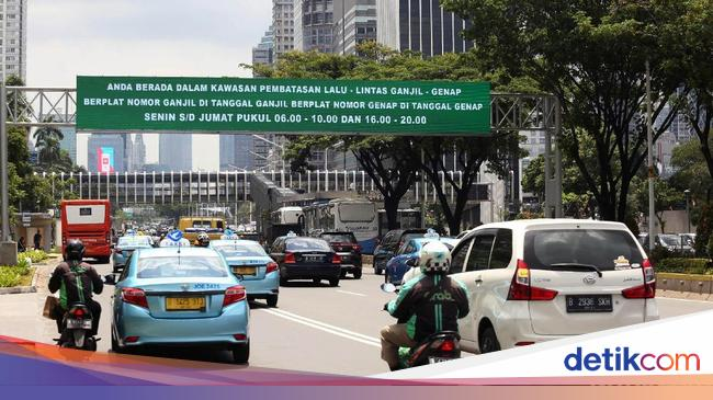 Ganjil Genap 'Asian Games' Dapat Lampu Hijau Polisi