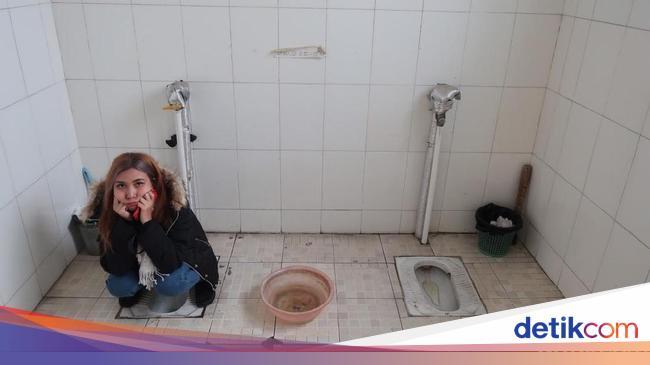 Foto: Toilet yang Bisa Bikin Pingsan di China