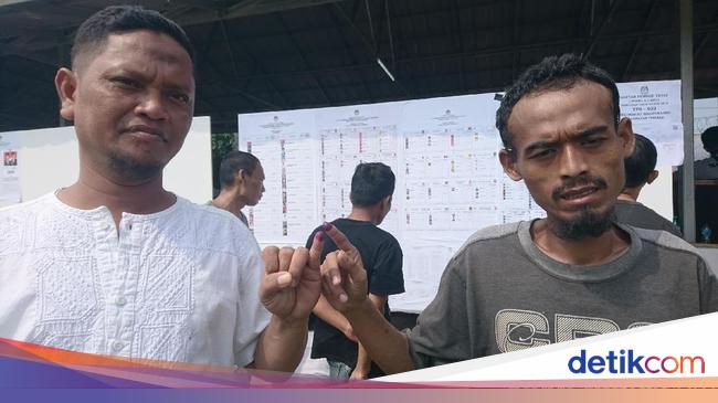 Prabowo Menang di 4 TPS Lapas Cilegon