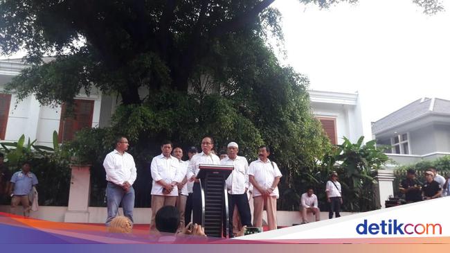 Kubu Prabowo Imbau Pendukung Tunggu Real Count KPU
