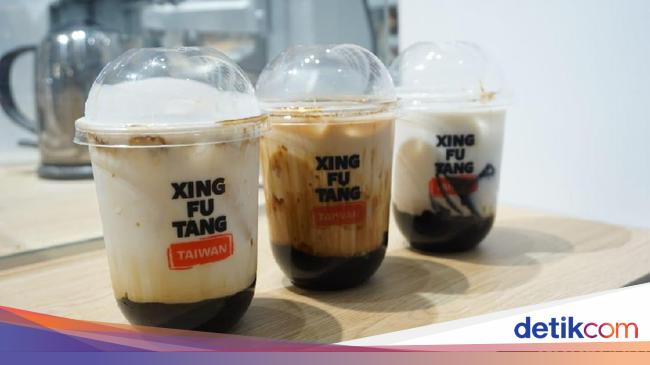 Xing Fu Tang Antre 2 Jam Untuk Cicipi Brown Sugar Boba Milk