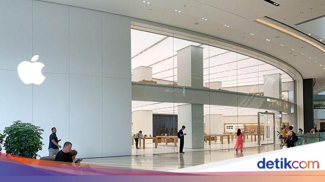 Kecuali di China, Apple Tutup Toko di Seluruh Duni