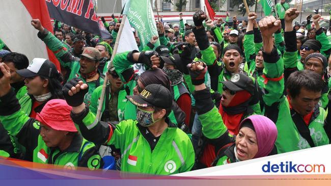 Gojek ke Driver Ojol yang Ikut Demo: Jaga Kondusifitas dan Keamanan
