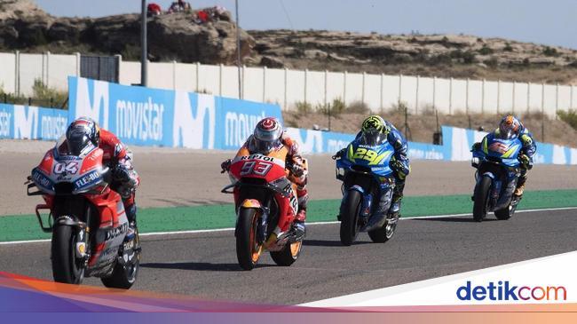 Tonton Live Streaming MotoGP Aragon 2020 di detikSport!