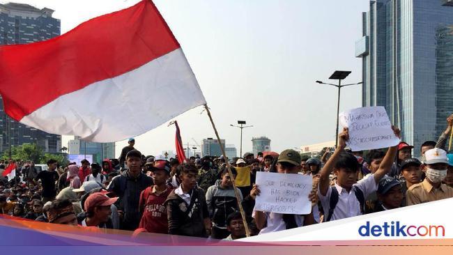 Demo DPR, Pelajar Keluhkan Pasal Hewan Masuk Halaman