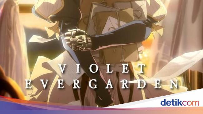 Seputar Violet Evergarden, Novel Ringan Jepang yang Populer