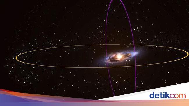 Galaksi Bima Sakti Akan Bertabrakan
