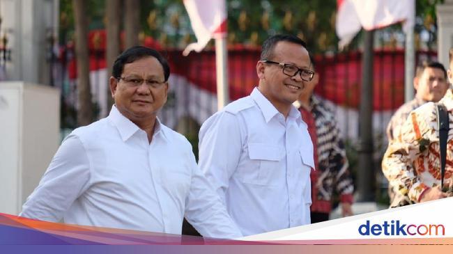 Berkemeja Putih, Prabowo-Edhy Prabowo Penuhi Panggilan Jokowi - detikNews