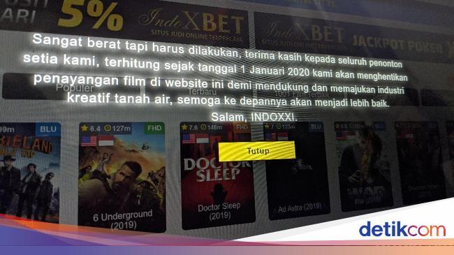 IndoXXI Tutup, Joko Anwar Keluhkan Situs Nonton Film Ilegal Tak Habis-habis