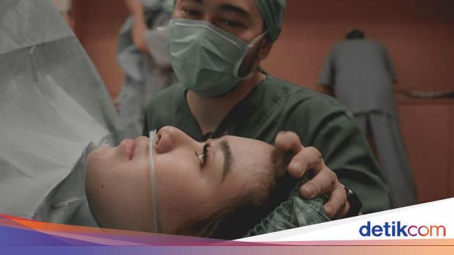 Momen-momen Dramatis Adik Raffi Ahmad, Syahnaz Melahirkan Anak Kembar
