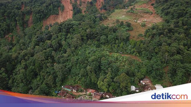 Ini Titik Longsor di Gunung Halimun Salak yang Sebabkan Banjir Lebak