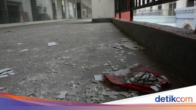 Foto: Penampakan Mal 'Hantu' di China