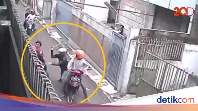 Pelaku Pembacokan Brutal di Bandung Ngaku Salah Sasaran