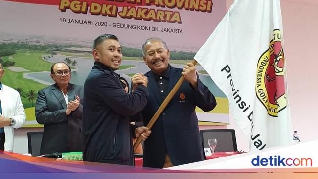 Pimpin PGI DKI Jaya, Reza Ingin Atasi Minimnya Stok Atlet Golf