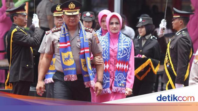 Haru Iringi Sertijab Dan Pisah Sambut Kapolres Malang