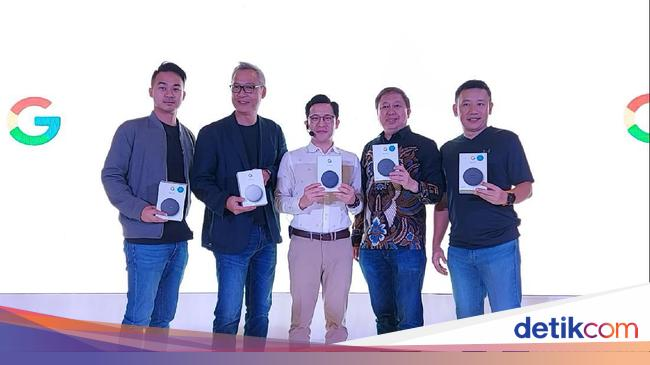 Google Resmi Boyong Speaker Pintar Nest Mini, Harganya?