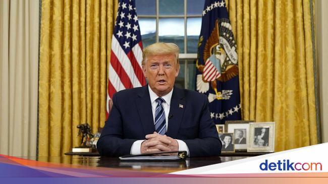 Kontak dengan Pasien Positif, Trump Dilaporkan Khawatir Terinfeksi Corona