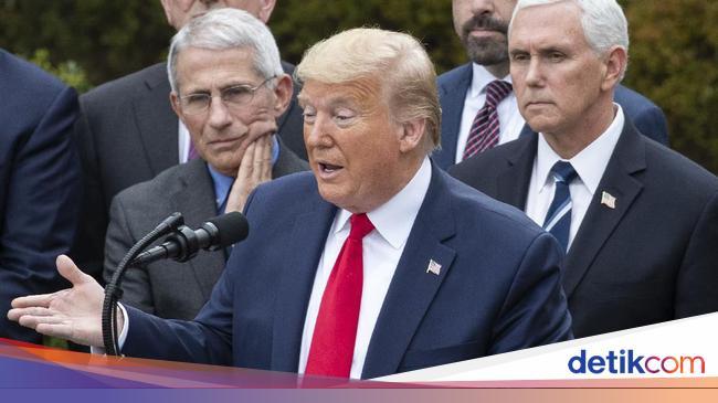 Trump Negatif Corona