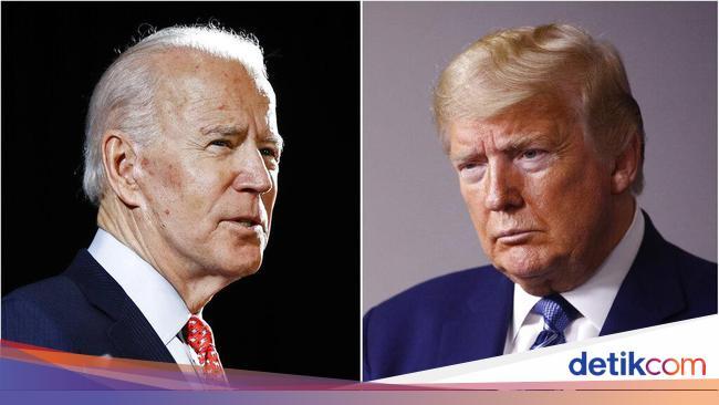 Biden Sebut Trump Bodoh Tak Pakai Masker, Inggris