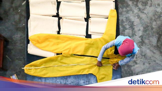Mahasiswa Makassar Produksi 669 Apd Gratis Untuk Lawan Corona